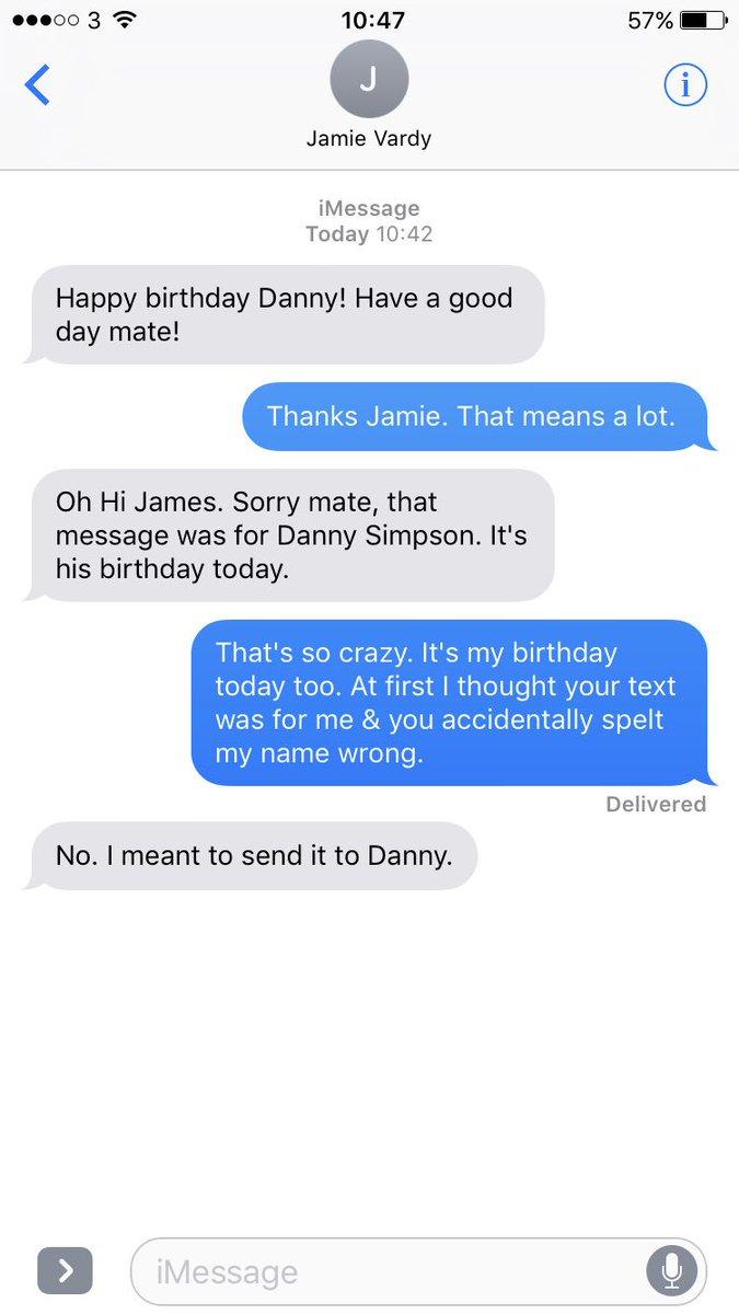 Boring James Milner On Twitter Jamie Vardy Just Sent Me A Happy