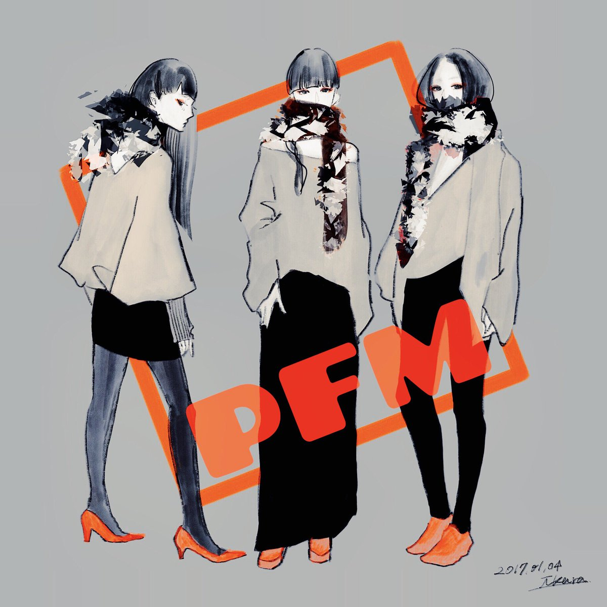 3人に似合いそうな服を_φ(・_・ #Perfume #pfm https://t.co/GBwdqhhxPN