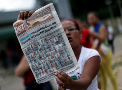 Thumbnail for Brazil's Violent Prisons; Burma Police Video; India's Mass Molestations: HRW Daily Brief