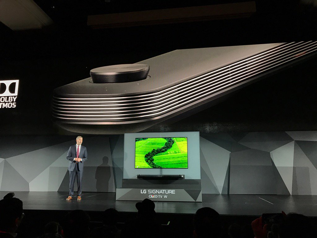 LG's new 4K TV is thinner than an iPhone