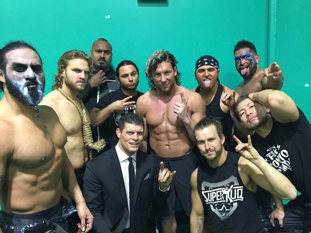 Image result for cody the bullet club