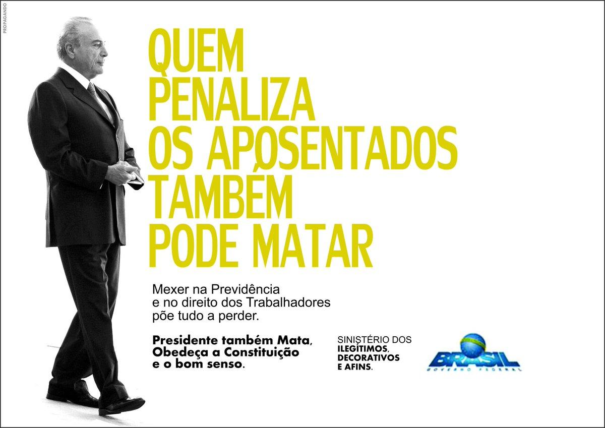 @pahega Presidente também pode Matar. https://t.co/Xh43JHAENq #presidentetambempodematar #foratemer https://t.co/dfcAQ1zPJZ
