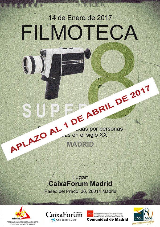 FILMOTECA: películas realizadas por personas sordas en el S.XX - organiza FeSorCam - Madrid, 1 abril.'17 C1VE7WeWEAAvjIY