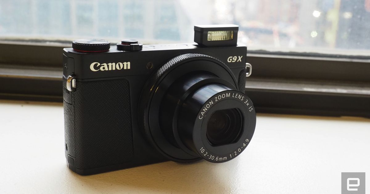 Canon's latest premium point-and-shoot is the G9 X Mark II