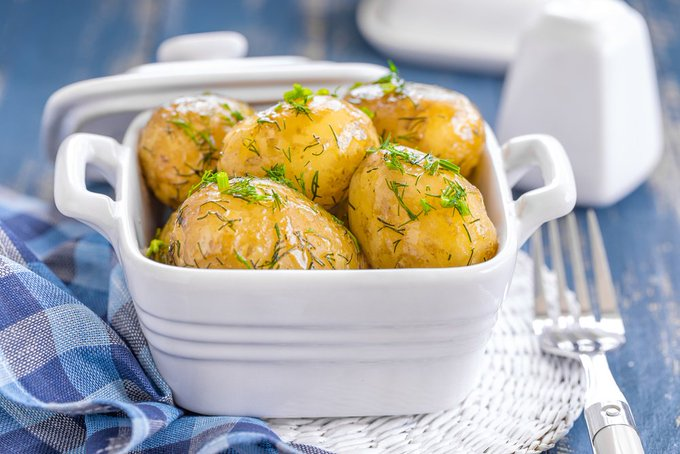 Instant Pot Garlic Butter New Potatoes