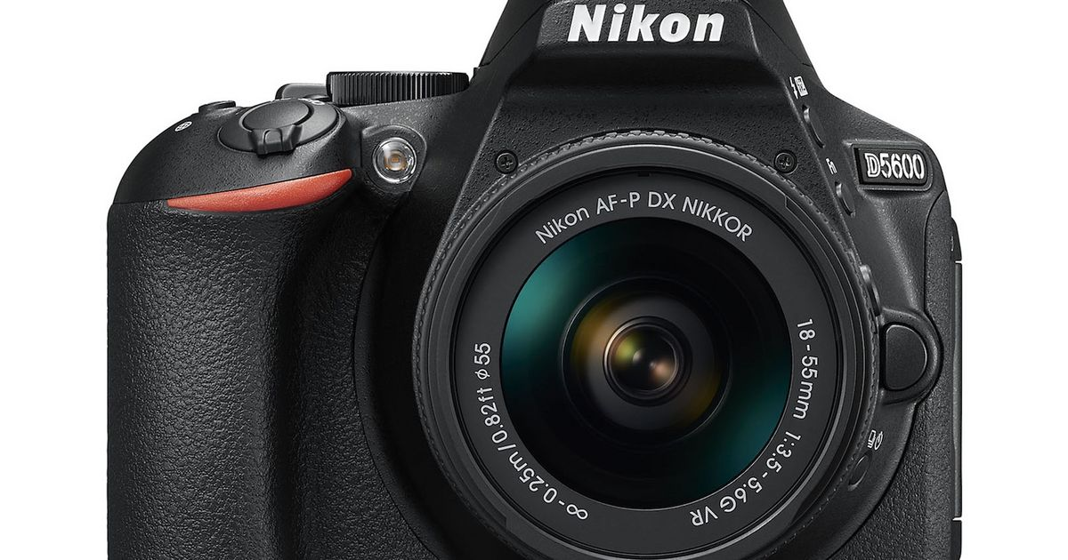 Nikon's D5600 mid-range DSLR hits the US this month for $800