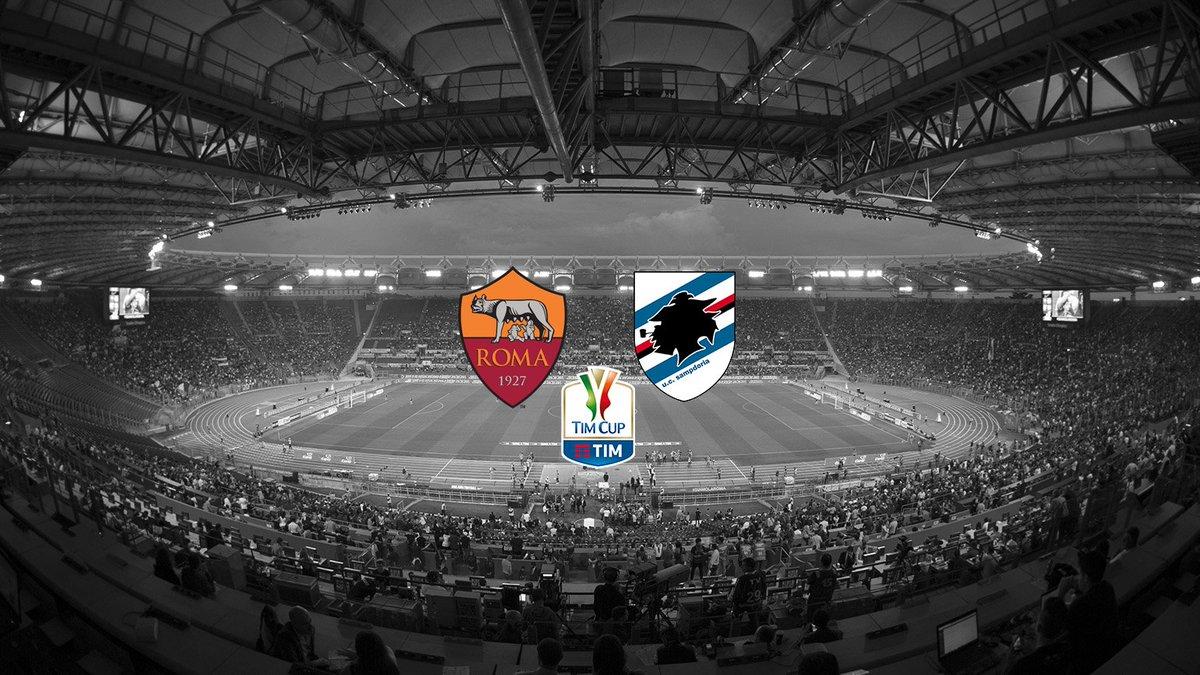 Diretta ROMA-SAMPDORIA Streaming gratis TV Rai Play: dove vederla, ultime notizie, formazioni Coppa Italia