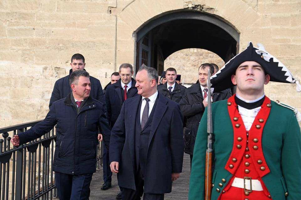Президент Молдовы Додон встретился с главой непризнанного Приднестровья Красносельским - Цензор.НЕТ 677