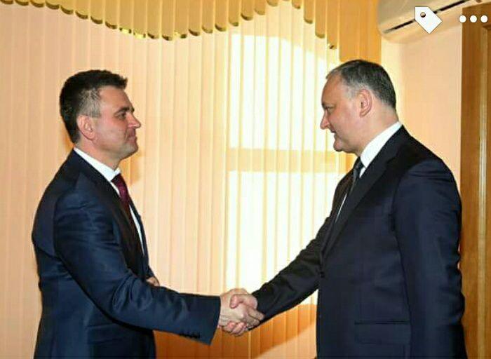 Президент Молдовы Додон встретился с главой непризнанного Приднестровья Красносельским - Цензор.НЕТ 5890
