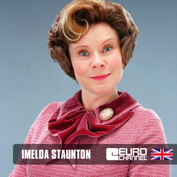Happy birthday Imelda Staunton!