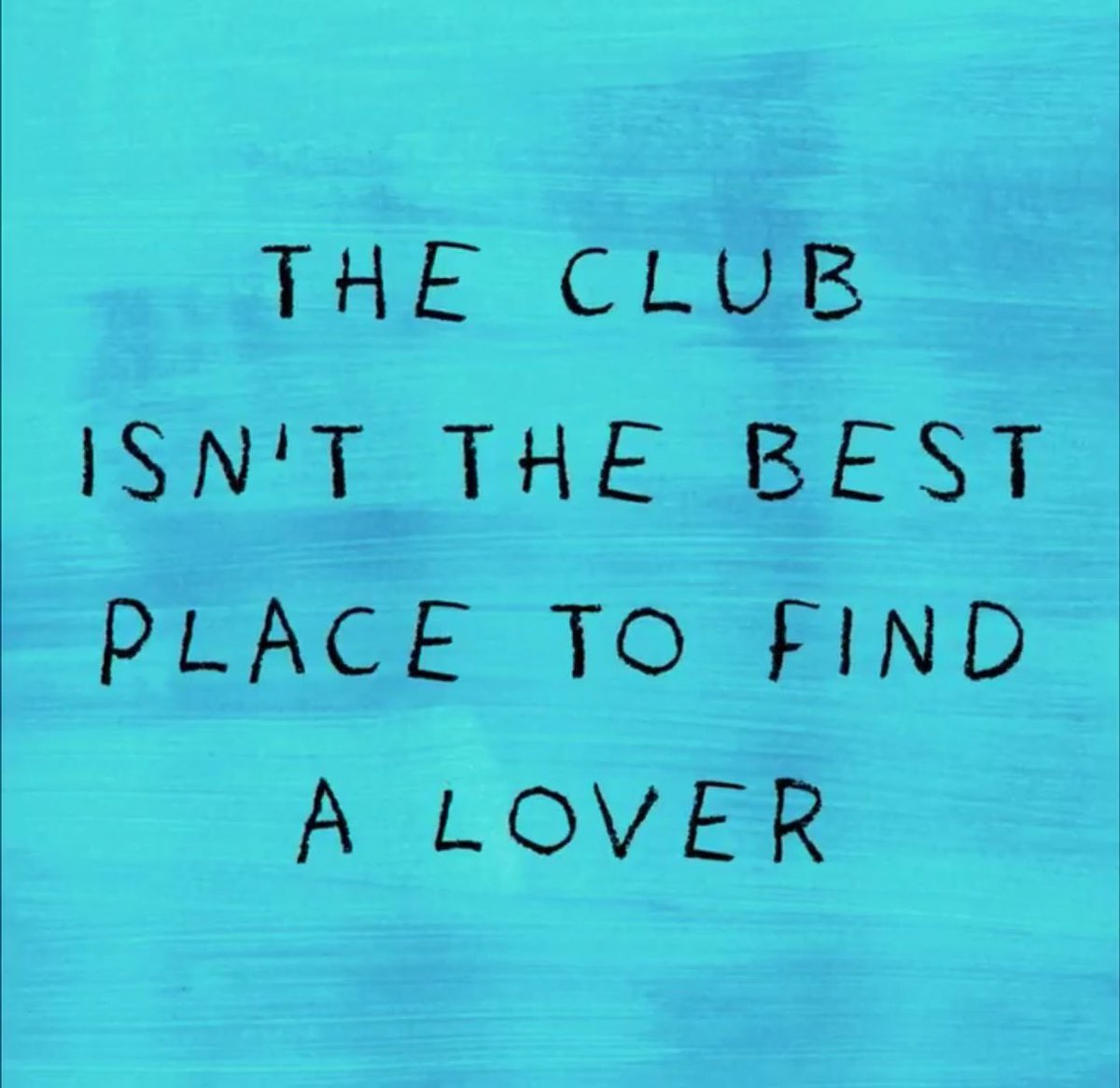 The club is the best place to find love