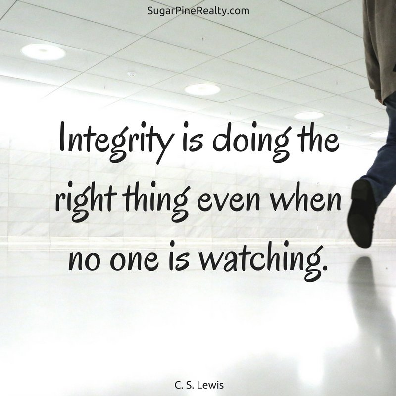 Integrity is doing the right thing even when no one is watching. C. S. Lewis #Quote #WednesdayWisdom https://t.co/5q1TVovFRK