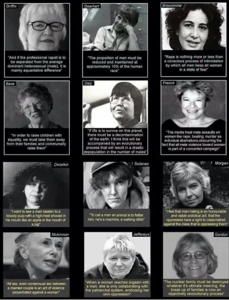 Top 12 Feminist Disturbing Quotes Against Men Mensrights
