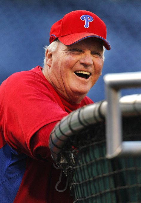 Happy 64th birthday to Phillies manager Charlie Manuel