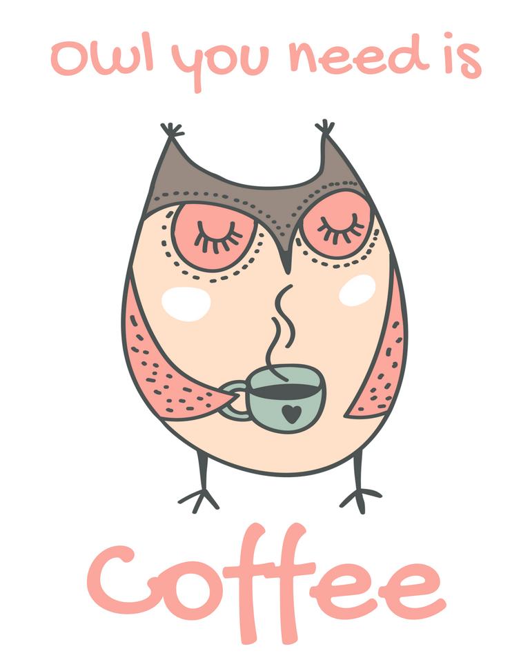 Free Owl Printable – Owl You Need is Coffee https://t.co/yoSTYsDyWX #printable #free https://t.co/GxxpQSqNLJ