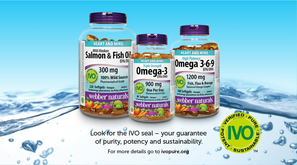 Webber Naturals On Twitter All Ivo Certified Omega 3s Come From