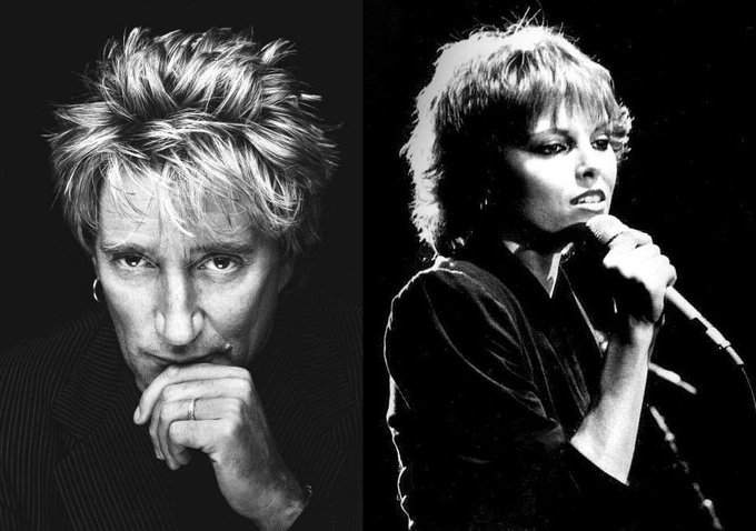 Happy birthday Rod Stewart (72) & Pat Benatar (64)!