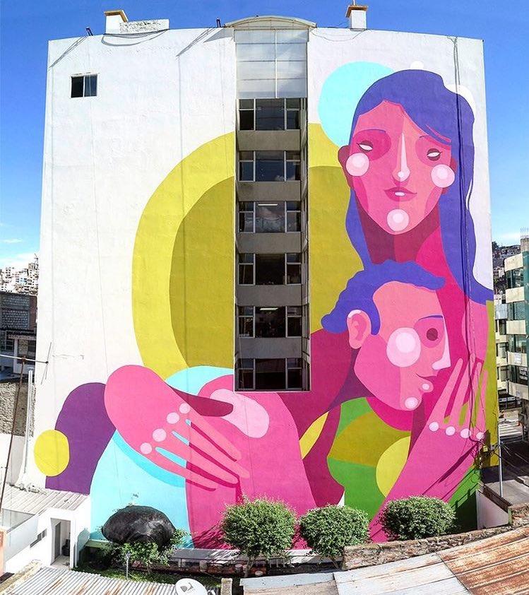 New Street Art by zesarbahamonte   📍 Ecuador 🇪🇨  #art #mural #graffiti #streetart