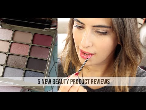 5 New Beauty Product Reviews // Lily Pebbles #LilyPebbles #LoveYa #MakeUp #Beauty