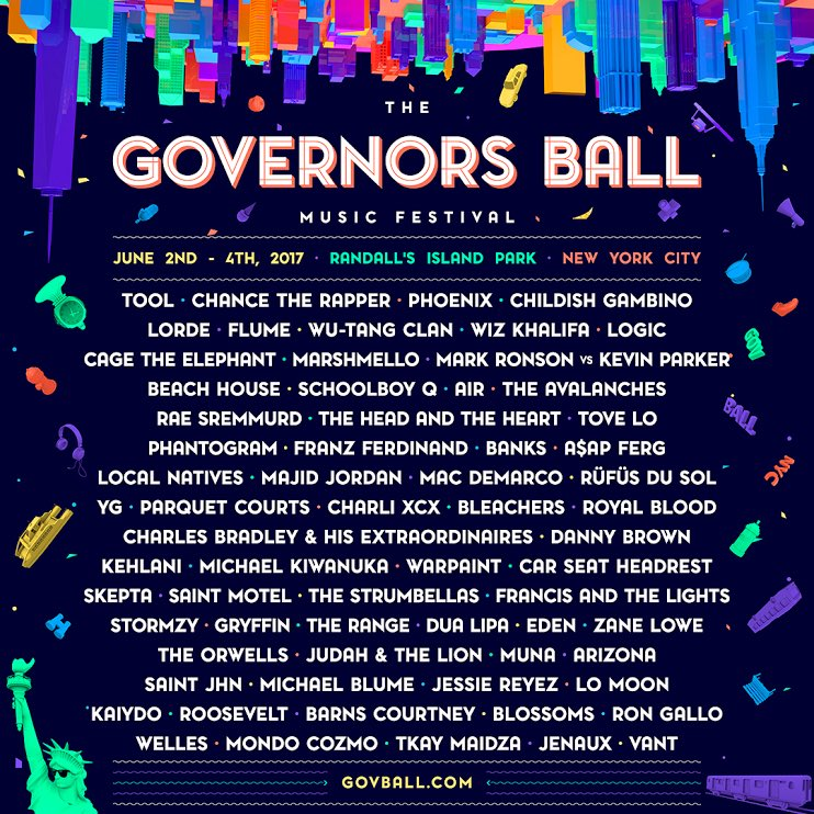 A$AP FERG TO PERFORM AT GOV BALL 2017