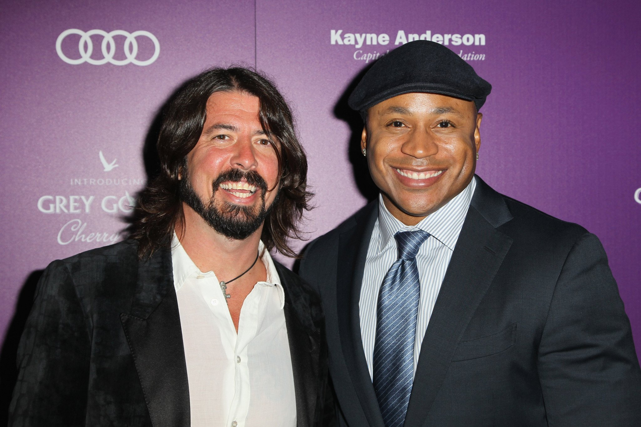 Happy birthday to 2 of our favourite dudes: Dave Grohl (48) & LL Cool J (49)!
