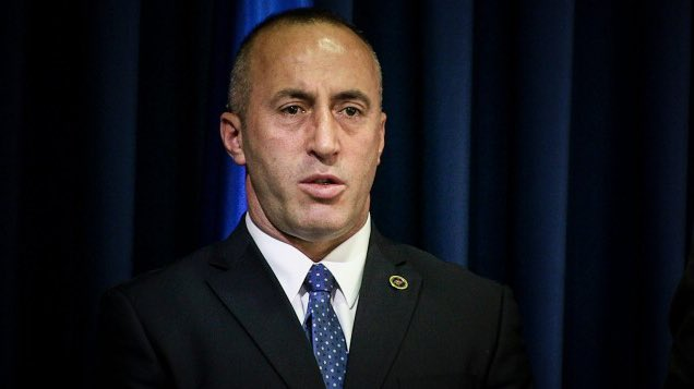 Police in France arrest Kosovo ex-PM  and  former rebel army chief Ramush Haradinaj, acting on Serbia warrant for suspected war crimes: reports