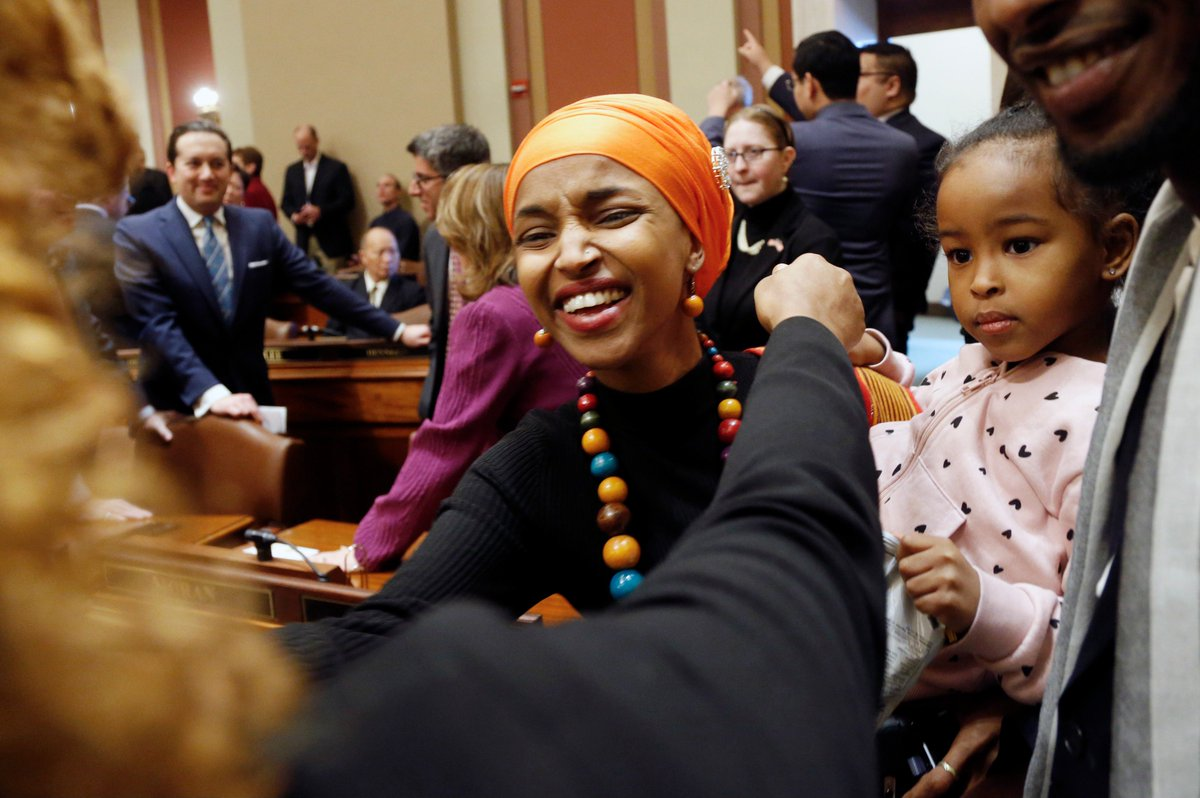 ilhan omar is the first somali american to take the u s