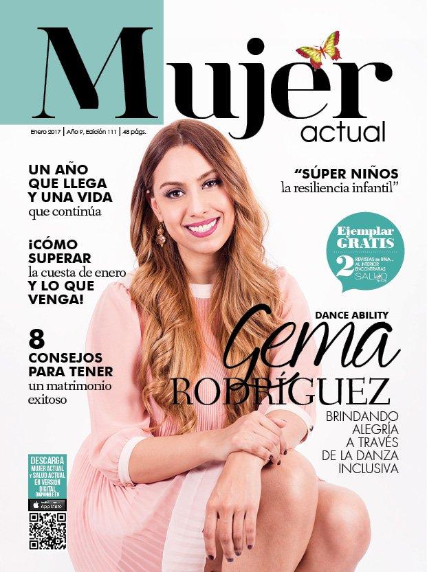Revista Mujer Actual On Twitter Portada Enero 2017 Gema