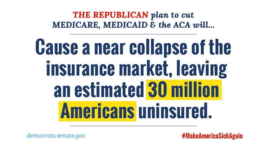 GOP have had 7 years to put forward a viable replacement plan for #ACA. So where is it? #MakeAmericaSickAgain https://t.co/Y99dmjCCJO