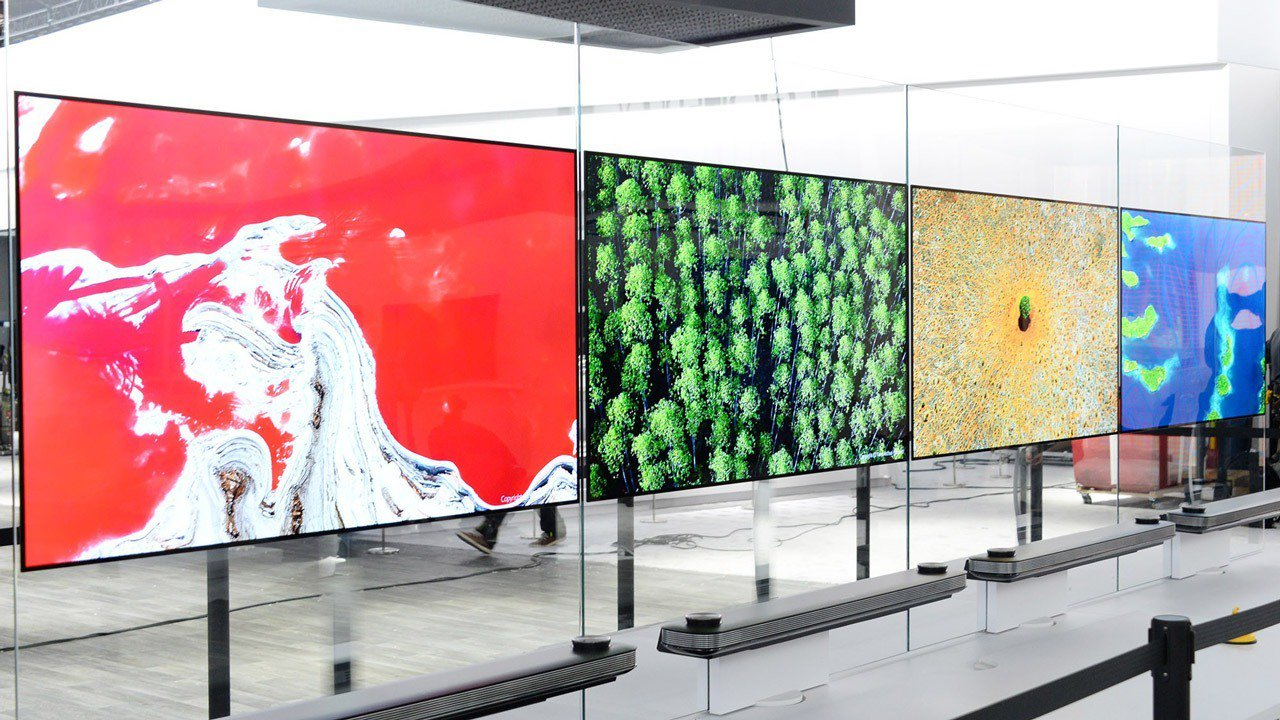 lg w-series tv wall tv thinner than smart phone