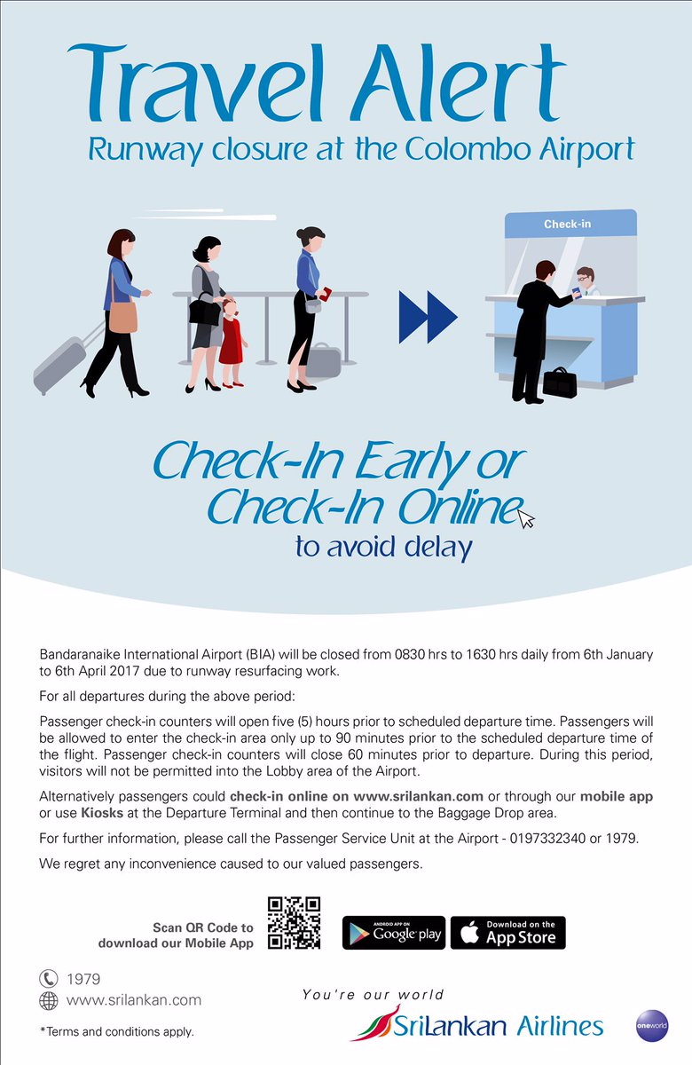 Srilankan airlines flysrilankan twitter - Srilankan airlines ticket office contact number ...