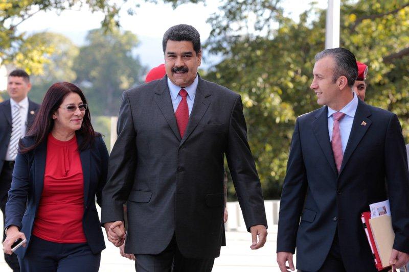 Designado como vicepresidente Ejecutivo de Venezuela Tareck El Aisami #AgendaOfensivaCarabobo https://t.co/MAcApH9ttC