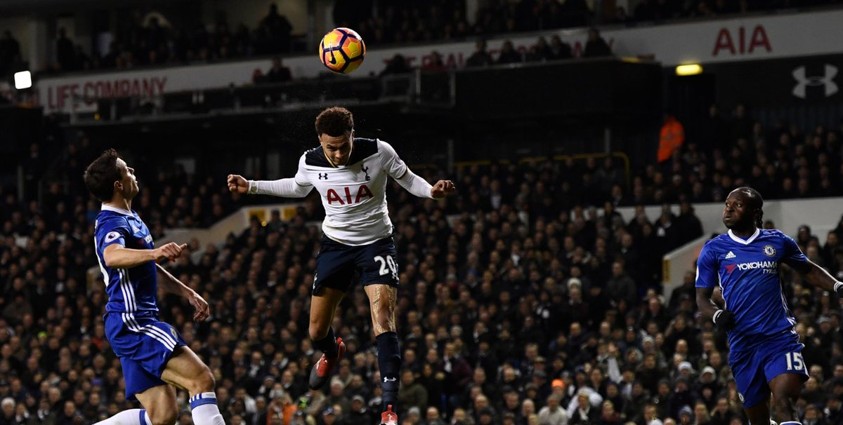 6b81854b89cb football fans went mad for dele alli after his third brace on the bounce  coys