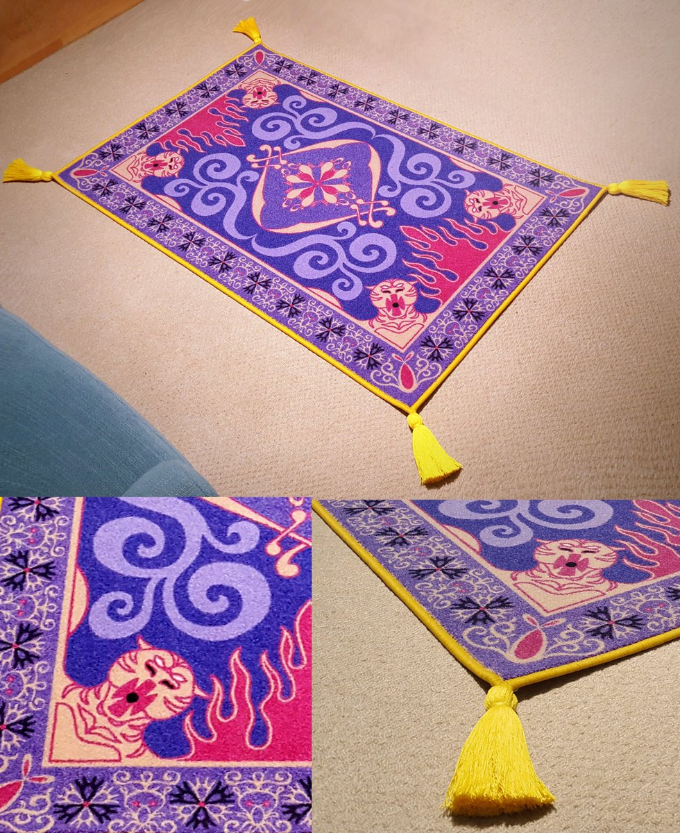 Aladdin Magic Carpet Replica - Carpet Vidalondon