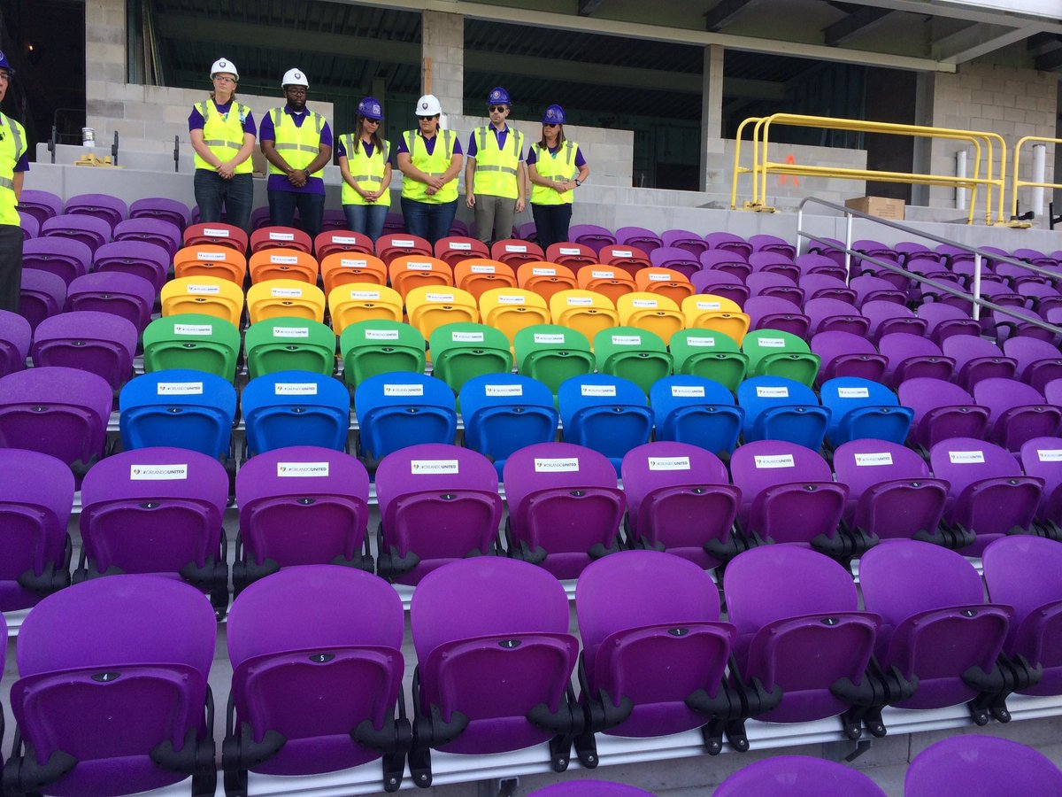 Image result for Orlando soccer club honors nightclub victims in new stadium