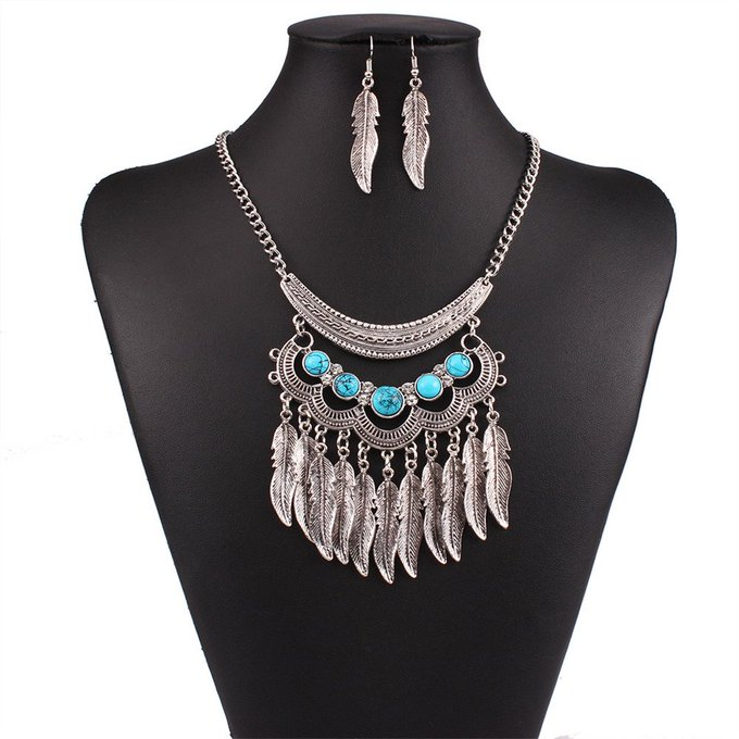 Ethnic Collar Necklace