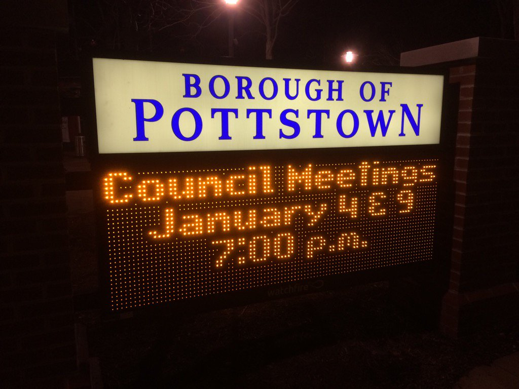 See if you can guess what's coming up! Pottstown Borough Council! Yay! https://t.co/0wWU5eFdmO