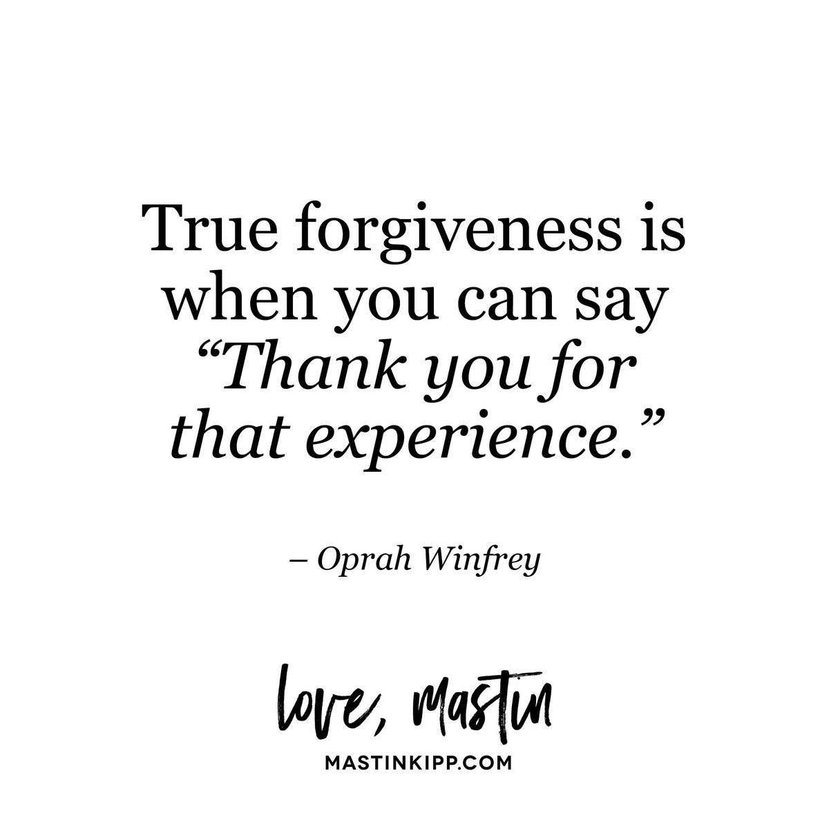 Forgiveness doesn't make right what happened. It sets you free. Who is it time to forgive? https://t.co/YncBtZiQo7