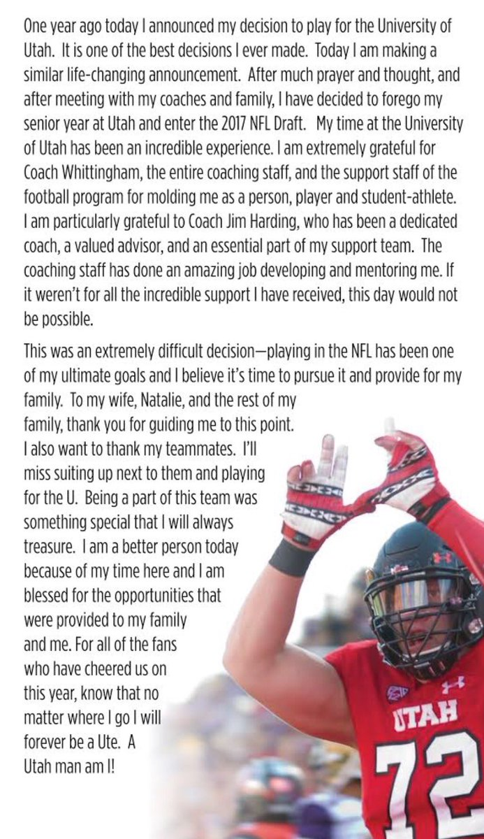 Thanks Ute Nation! #AlwaysAUte