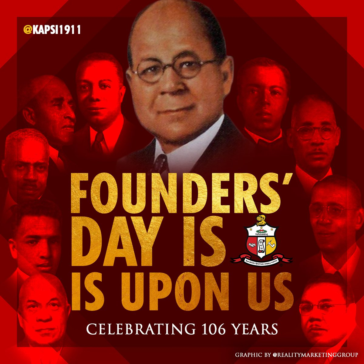 Celebrating 106 Years of Achievement  #Kappa106 https://t.co/KQMEpT4ONa