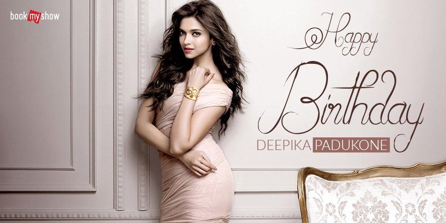 Wishing this gorgeous and beautiful diva a very Happy Birthday 🙂🎂   #HappyBirthdayDeepikaPadukone #DeepikaPadukone