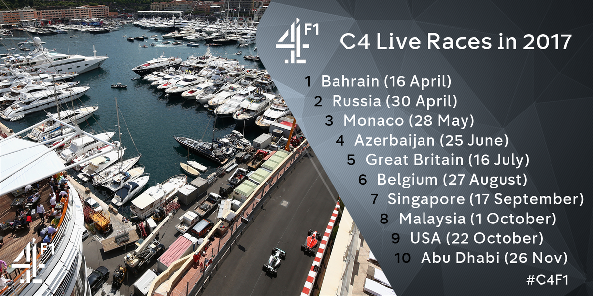 Channel 4 F1® on Twitter: