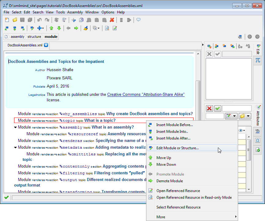 docbook editor windows