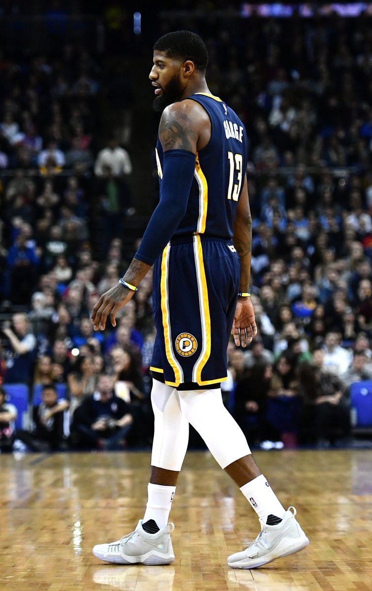 e6a9d7fae113 Paul george debuts the nike pg 1
