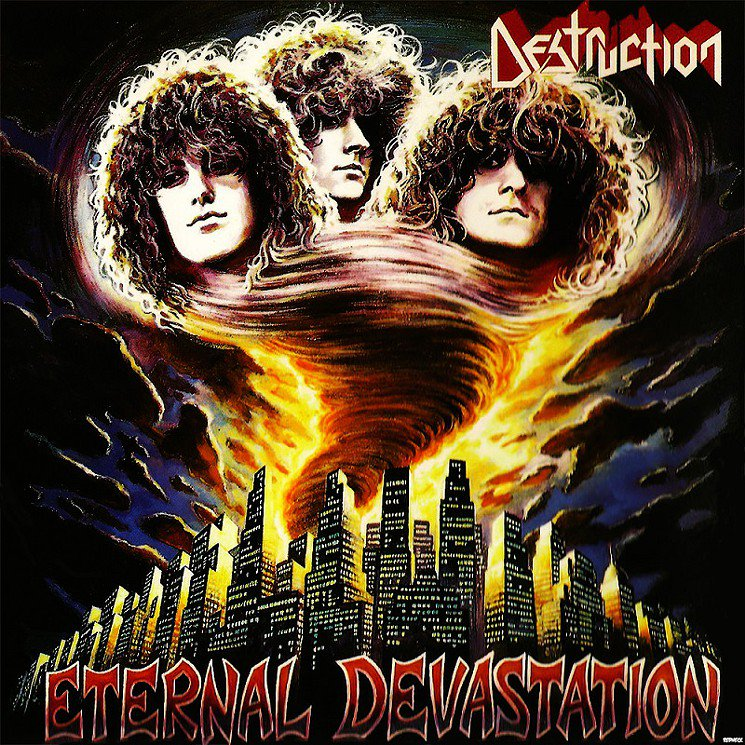 Canadian Thrasher On Twitter Great Album By Destruction