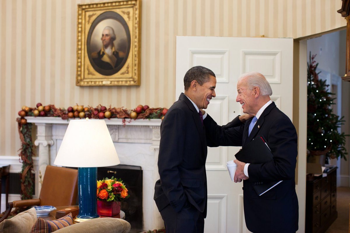 'This..gives the internet one last chance to talk about our bromance.' —@POTUS