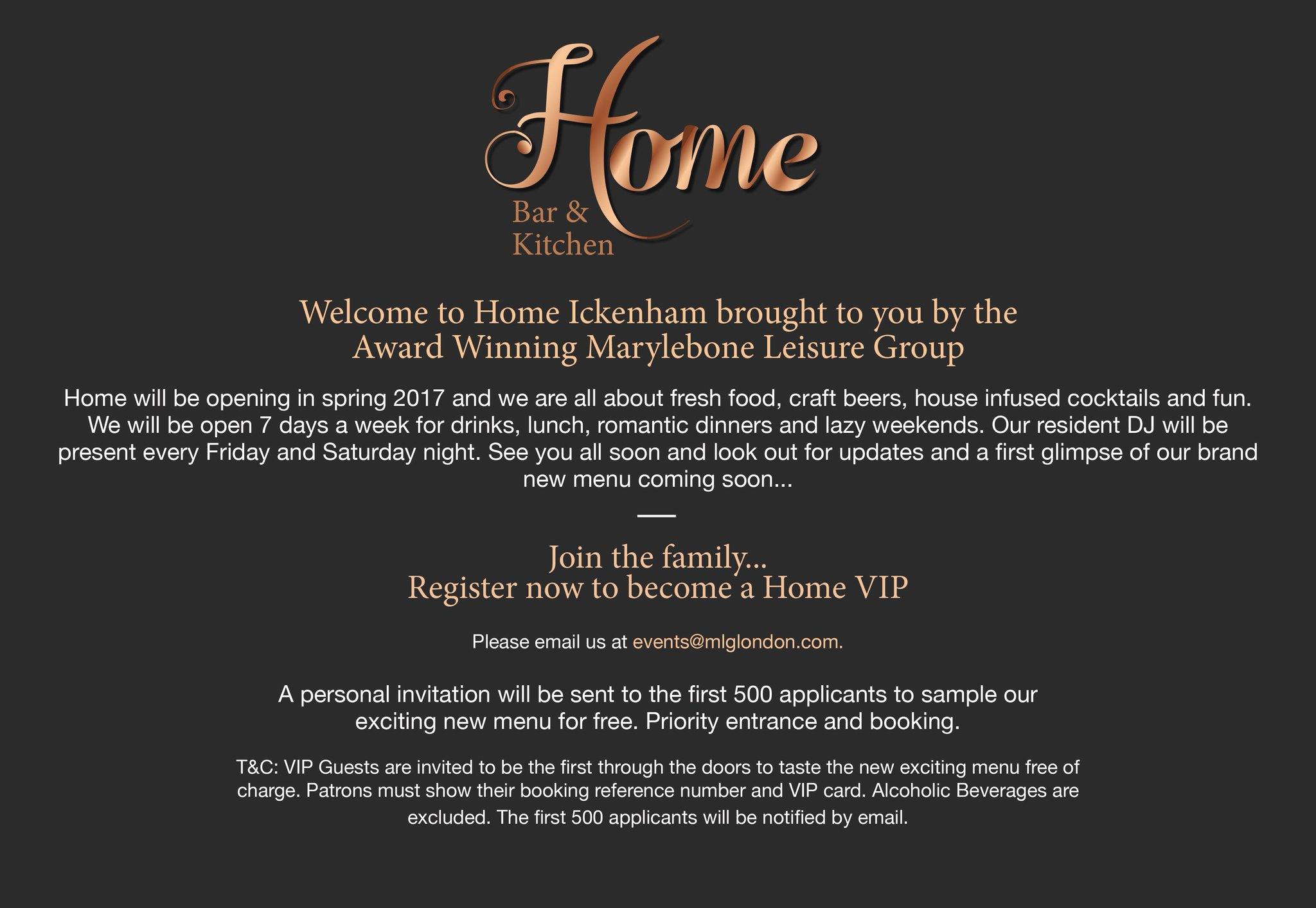 Home Bar Kitchen On Twitter Home Is Coming To Ickenham This