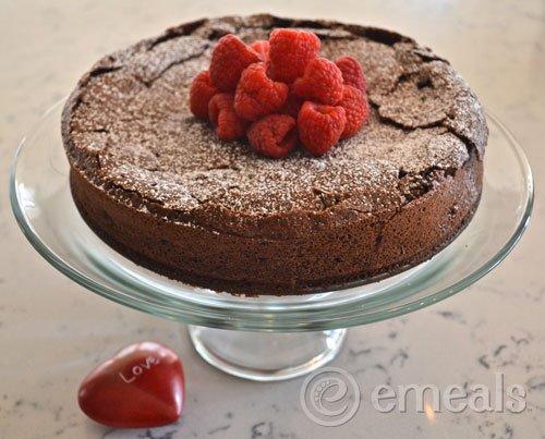 Dark Chocolate Torte #Recipe