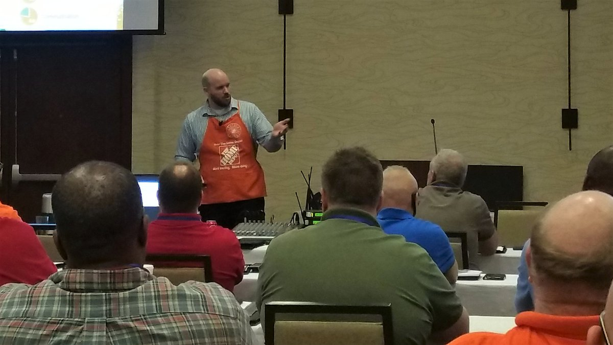 Thanks @JohnHopkinsHD for speaking at our Managers Meeting. Our team is excited about 2017 🎉