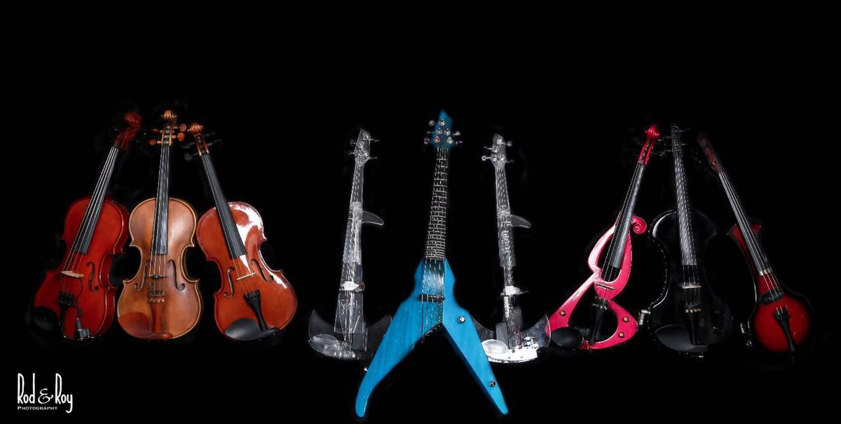 My Toys!! Which one will you pick?! #violin #electricviolin #music<br>http://pic.twitter.com/FMkiQBaK7A